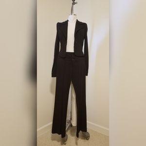 Bebe Liv Fit Black Suit